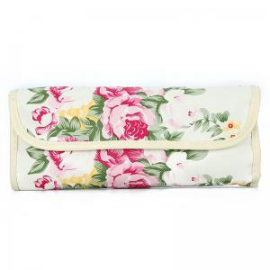TODO 12pcs Peony Pattern Case Makeup Brushes Set with Cosmetic Bag -