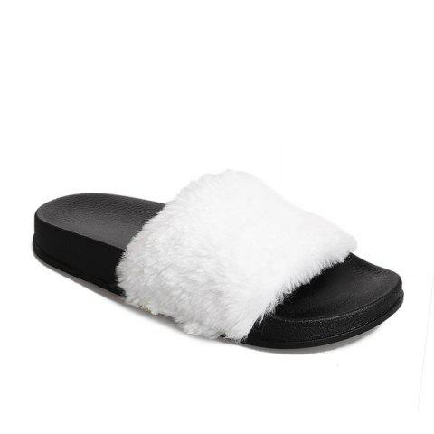 Fancy Autumn and Winter New Thick Plush Slippers
