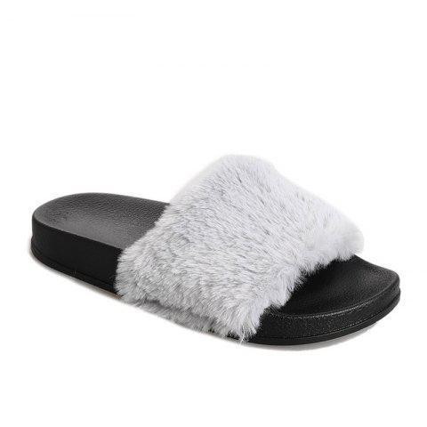 Affordable Autumn and Winter New Thick Plush Slippers