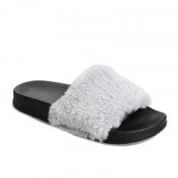 Autumn and Winter New Thick Plush Slippers -