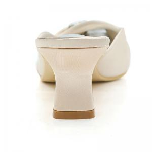 Women's Shoes with High Heels Square Wedding Shoes -