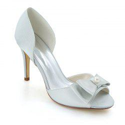 Spike Hollow Fish Mouth Chaussures de mariage -