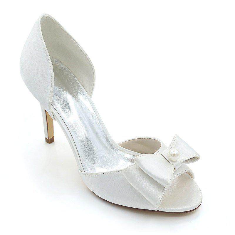 Spike Hollow Fish Mouth Chaussures de mariage