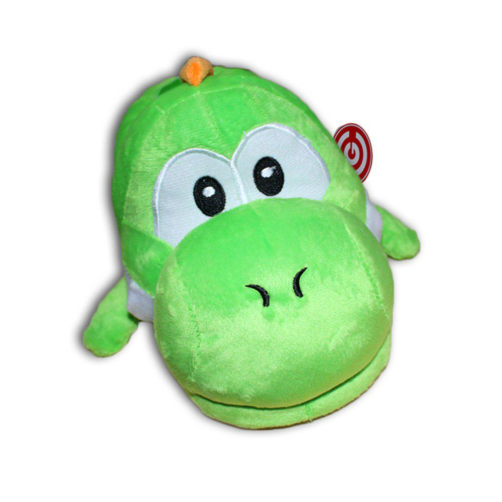 Game Super Mario Yoshi Plush Slippers  Stuffed Shoes One SizeSHOES &amp; BAGS<br><br>Size: ONE SIZE; Color: GREEN;