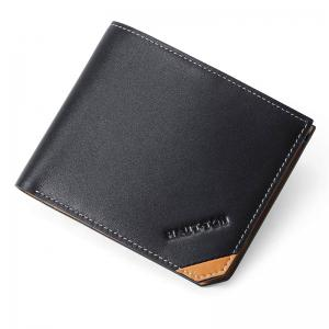HAUT TON Genuine Leather Bifold Wallet Credit Card Holder -