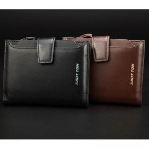 HAUT TON Genuine Leather Bifold Trifold Wallets for Men Removable Flipout Card Holder -