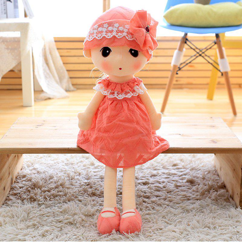 Outfit Little Girl Style Stuffed Ragdoll 40cm