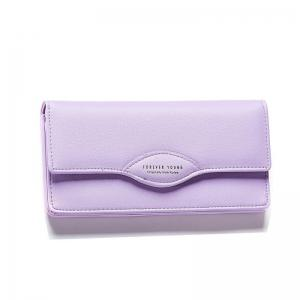 Fashion Women Long Wallets PU Leather High Quality Wallet for Lady -