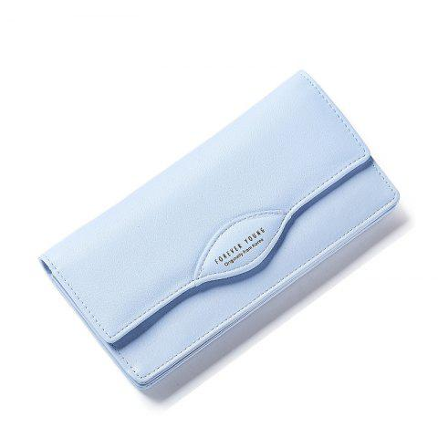 Shops Fashion Women Long Wallets PU Leather High Quality Wallet for Lady