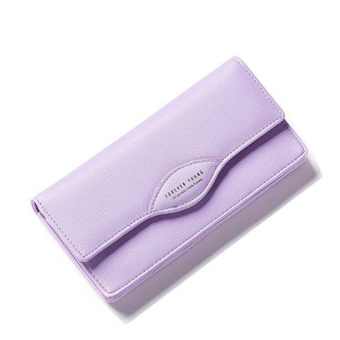 New Fashion Women Long Wallets PU Leather High Quality Wallet for Lady