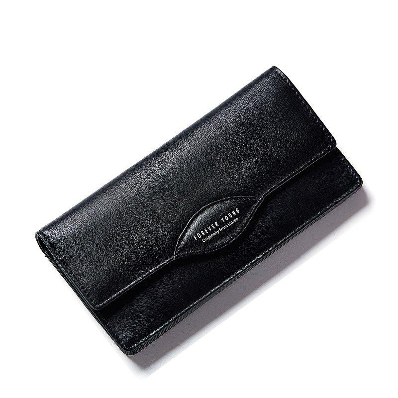 Outfits Fashion Women Long Wallets PU Leather High Quality Wallet for Lady