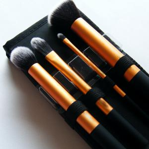 TODO Face Definition Makeup Brushes with Case 4PCS -