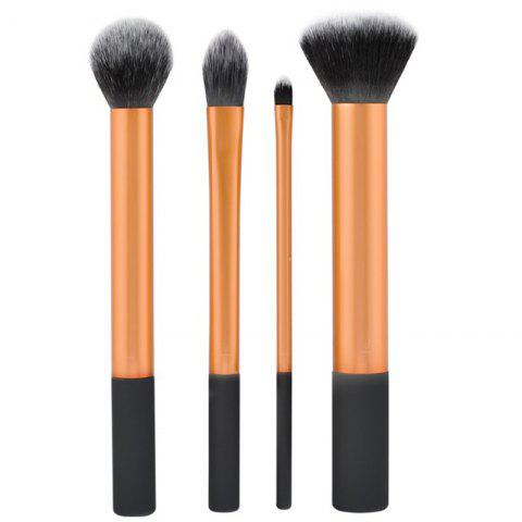 Fashion TODO Face Definition Makeup Brushes with Case 4PCS
