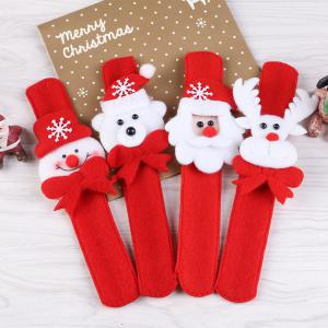 2pcs Creative Christmas Party Children Decorative Bracelet Pats Circle -