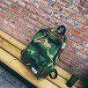 MENGHUO Fashion Letter Embroidery Backpack for Men -