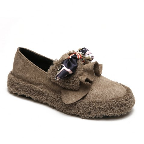Buy Women Autumn Winter Shoe Casual Soft Single Roman Shoes