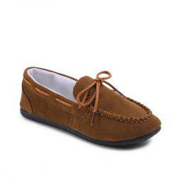 Korean Version of The New Autumn and Winter Bowls of Shallow Mouth Peas Shoes -