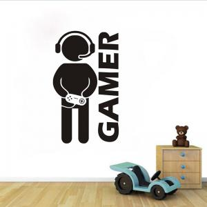 ... DSU Video Game Wall Sticker Vinyl Art Mural For Home Decoration Art  Bedroom Poster Paper Decor Part 20
