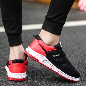Men Running Shoes Breathable Outdoor Male Sneakers Light Running Adult Athletic Sneakers -