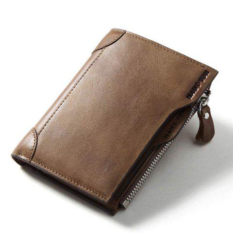 Latest HAUT TON Genuine Leather Trifold Wallets for Men Credit Card Protector