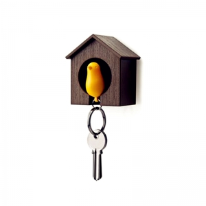 Bird Style Key Ring with Nest -
