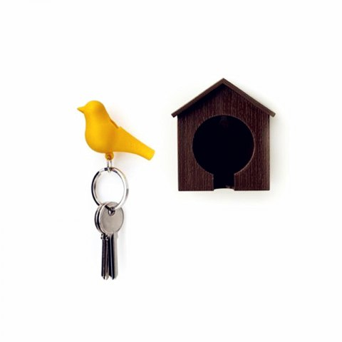 Discount Bird Style Key Ring with Nest
