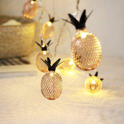 1.5M 10 LED Christmas Pineapple Shaped Bedroom Living Room Decorative Light String