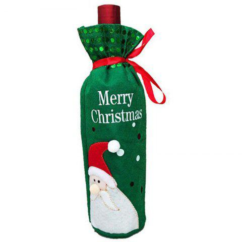 Fancy Christmas Decoration Wine Bottle Cover