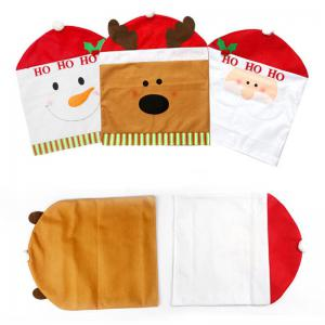 Christmas Decoration Chair Cover Hotel Restaurant Holiday Dressing Supplies -