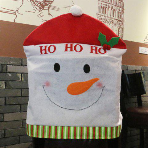 Outfit Christmas Decoration Chair Cover Hotel Restaurant Holiday Dressing Supplies