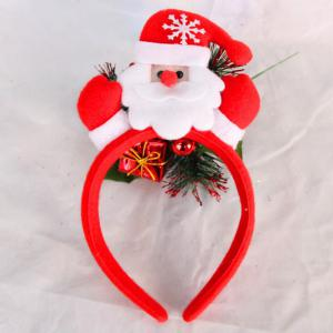 Cute Flashing Christmas Headband LED Headwear for Kids Adults Decoration -