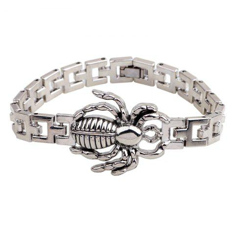 Мужская мода Spider Watch Chain Bangles Titanium Steel Bracelet