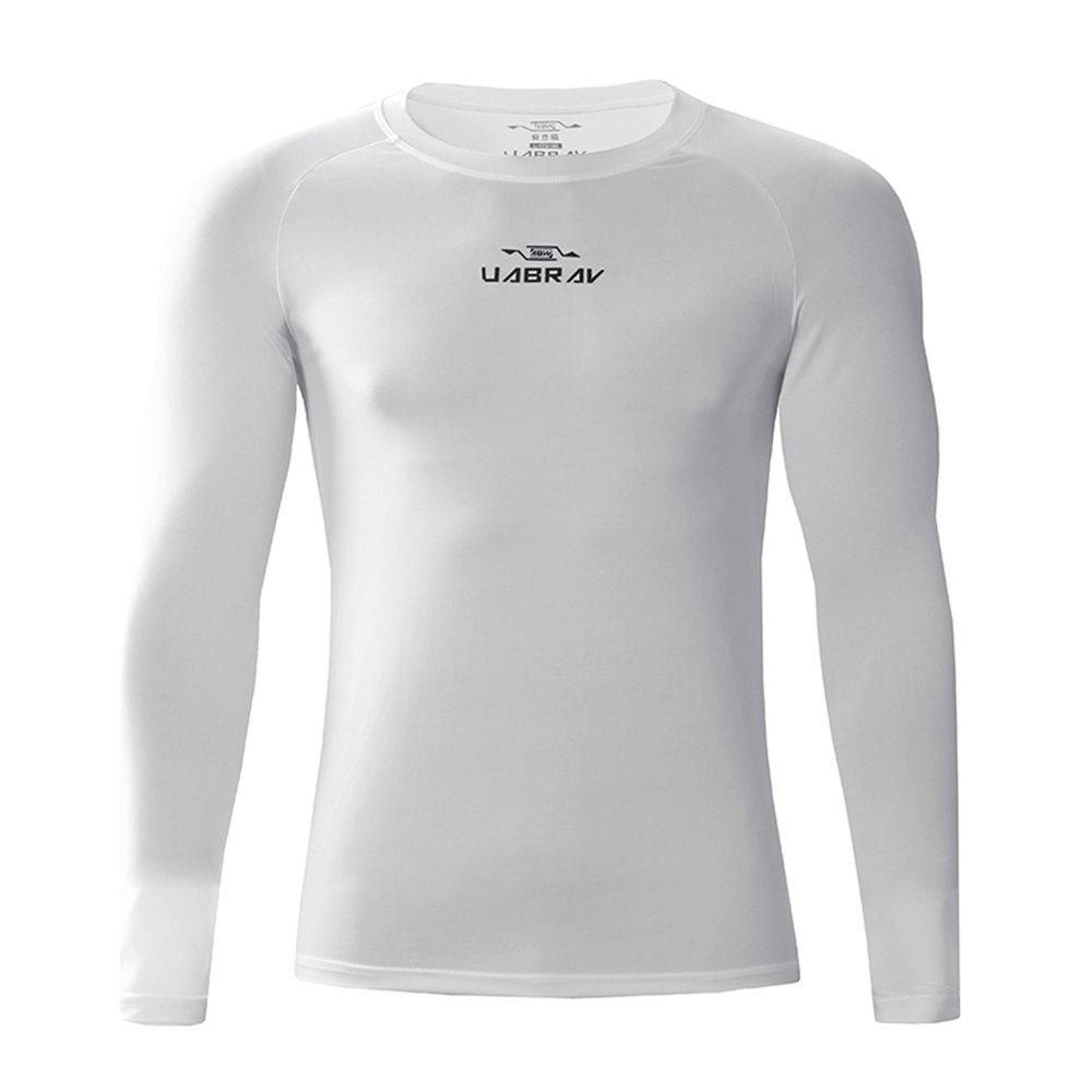Trendy Men's Quick-Drying Sportswear Fitness Gym Clothes Long Sleeves