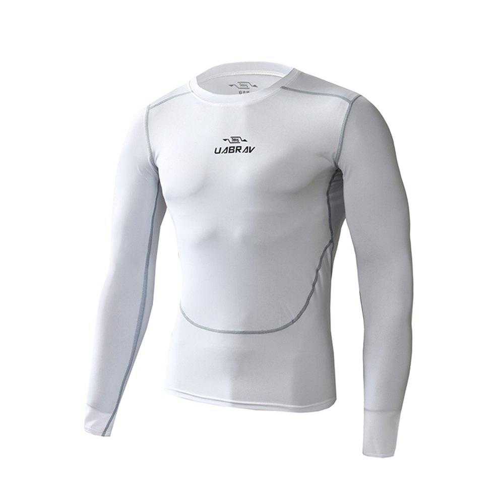 Outfits Men's Quick-drying Elastic Tights Basketball Training Sportswear Long Sleeve T-Shirt