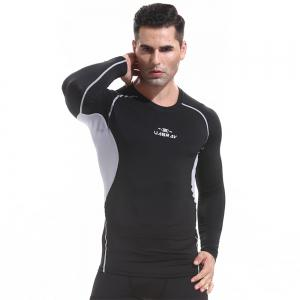 Basketball Tights Fitness Clothing Male Outdoor Quick-Drying Long Sleeve T-Shirt -