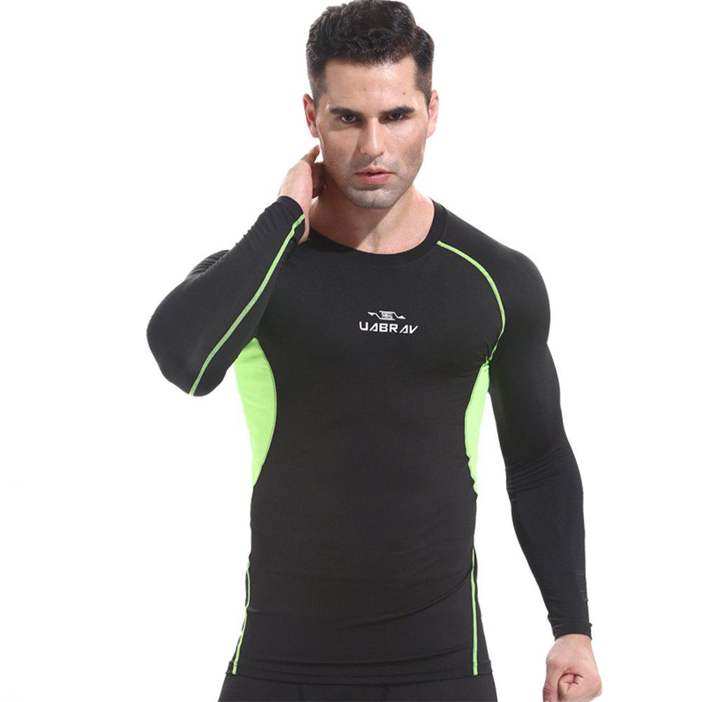 Outfits Basketball Tights Fitness Clothing Male Outdoor Quick-Drying Long Sleeve T-Shirt