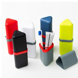 Travel Gargle Cup Toothbrush Toothpaste Suit Storage Box -