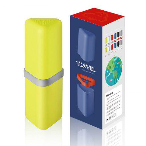 Shop Travel Gargle Cup Toothbrush Toothpaste Suit Storage Box