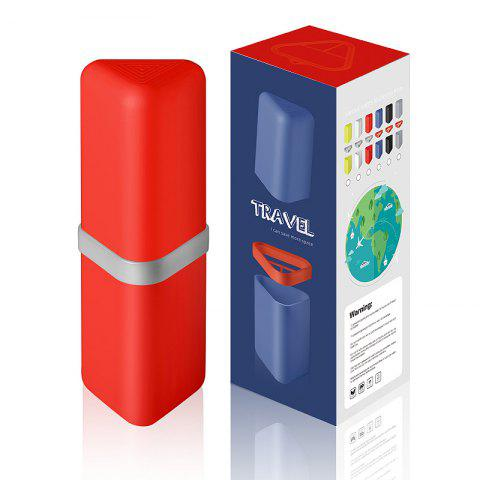 Affordable Travel Gargle Cup Toothbrush Toothpaste Suit Storage Box
