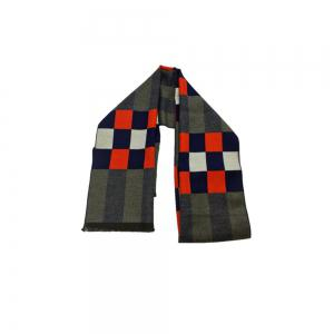 Winter Outdoors Pashmina Fashion Warmth Lattice Long Scarf for Men -