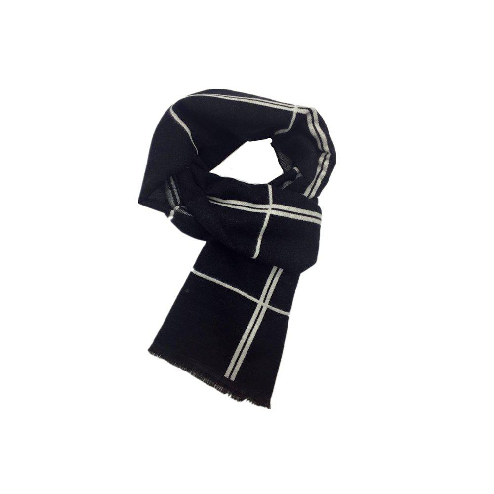 Trendy Winter Outdoors Pashmina Fashion Warmth Lattice Long Scarf for Men