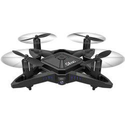 GTENG T911W 2.4GHZ 4CH Foldable Drone WiFi FPV RC Drone with HD Camera -