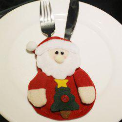 Christmas Knife and Fork Bag -