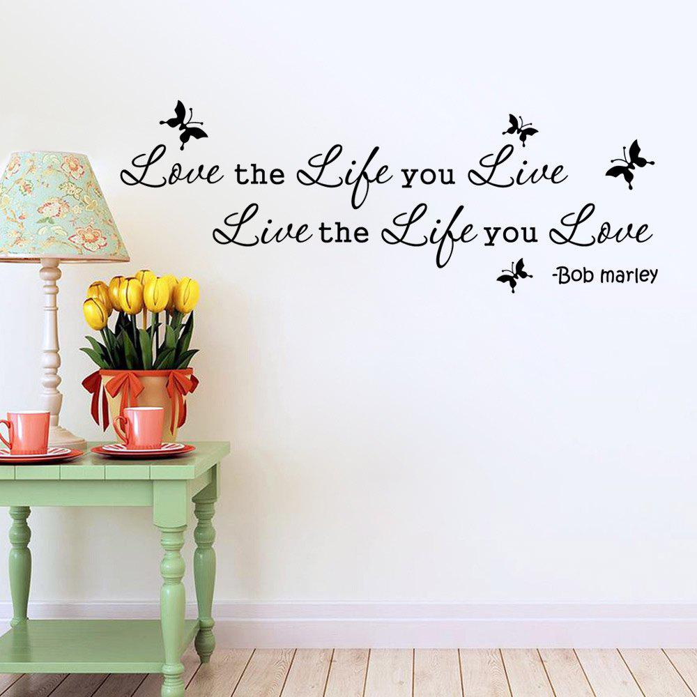 DSU 9296 Home Decoration Wall StickerHOME<br><br>Size: 17 X 59CM; Color: BLACK; Brand: DSU; Type: Plane Wall Sticker; Subjects: Holiday,Leisure,Letter,People,Words / Quotes; Function: Decorative Wall Sticker; Material: Vinyl(PVC); Suitable Space: Bedroom,Corridor,Dining Room,Entry,Hotel,Kitchen,Living Room,Pathway; Layout Size (L x W): 17 x 59 cm; Effect Size (L x W): 25.5 x 71 cm; Quantity: 1;