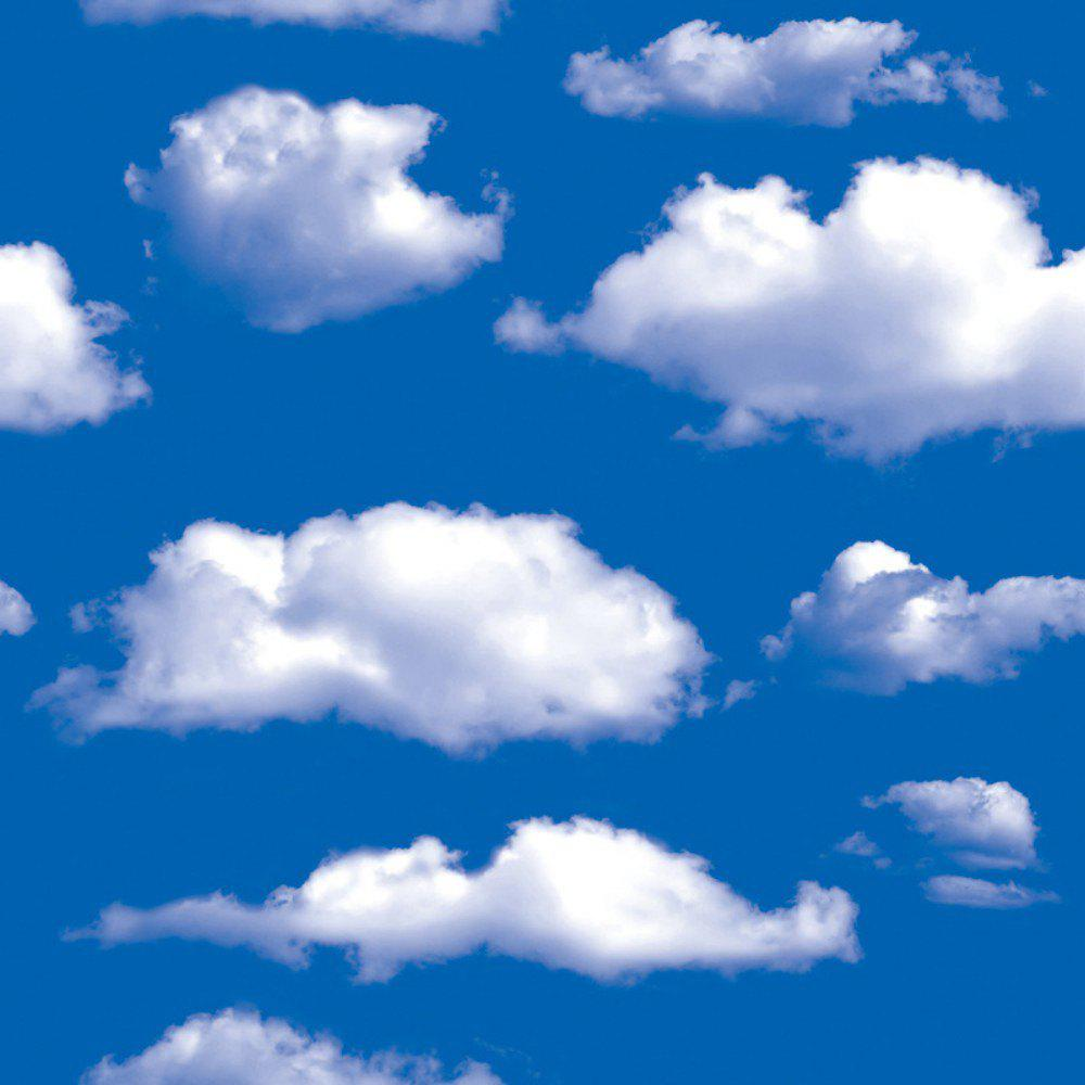 DUS Blue Sky White Cloud Wallpaper Natural DIY Wall Stickesr SA-1019HOME<br><br>Size: 45 X 100CM; Color: COLORMIX; Brand: DSU; Type: Plane Wall Sticker; Subjects: Fashion,Landscape,Leisure,Others,Vintage; Art Style: Plane Wall Stickers; Sizes: Others; Color Scheme: Others; Function: Decorative Wall Sticker; Material: Vinyl(PVC); Suitable Space: Bedroom,Cafes,Dining Room,Game Room,Hotel,Living Room,Office,Study Room / Office; Layout Size (L x W): 45 x 100cm; Effect Size (L x W): 45 x 100cm; Quantity: 1;