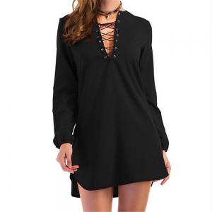 Casual Long Sleeves Dress -