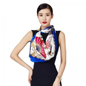 Big Square Silk Scarf Women Fashion Spring Summer Satin Shawls -