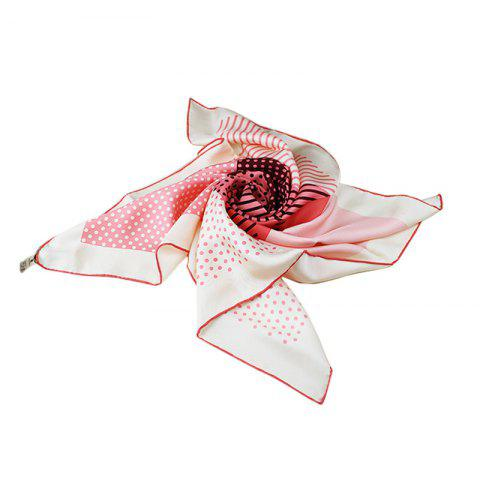 Cheap 2017 Fashion Summer Natural Silk Twill Square Scarves for Ladies