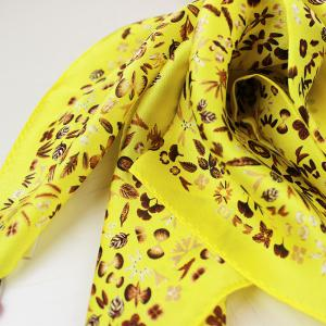 Luxury High Quality Small Square Printing Neckchief for Female -