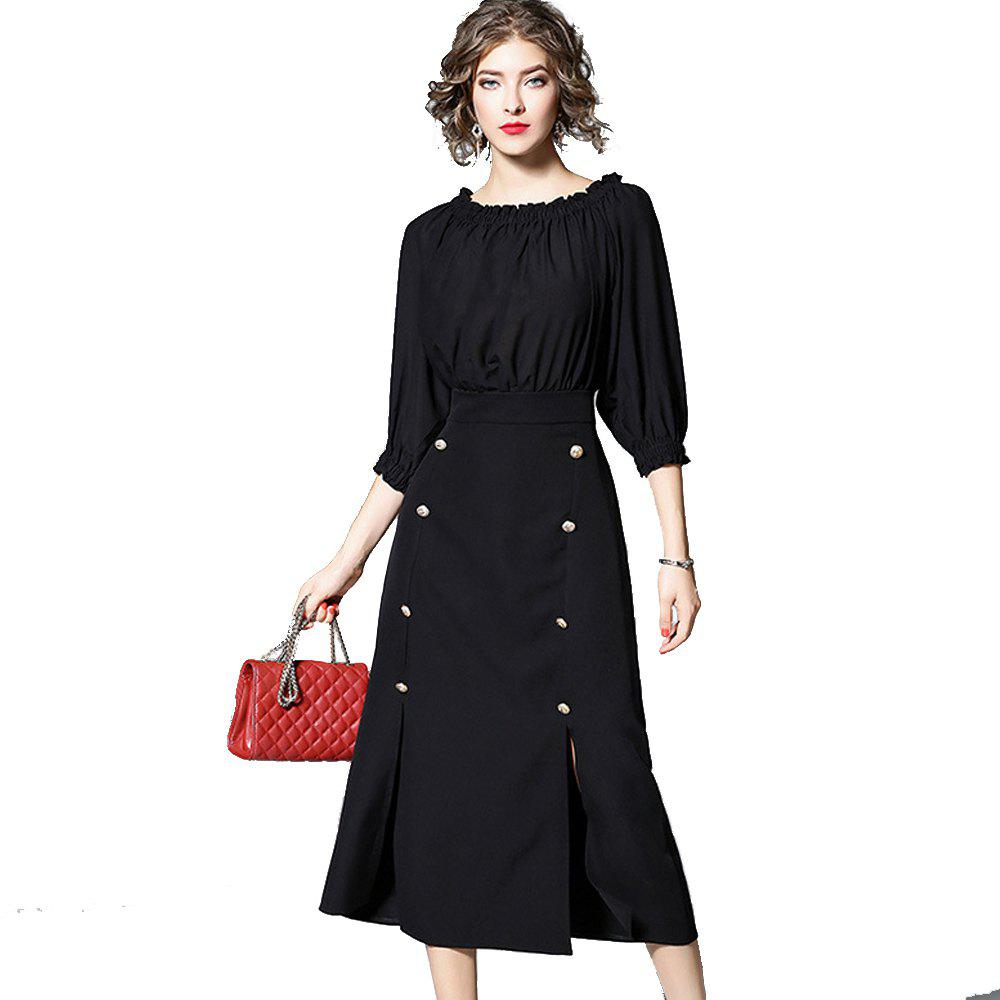 Discount New Women's Black Dress